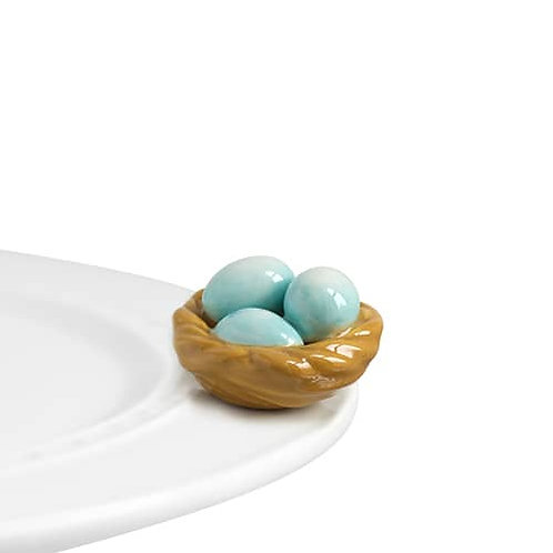 NORA FLEMING MINI-ROBINS EGG BLUE