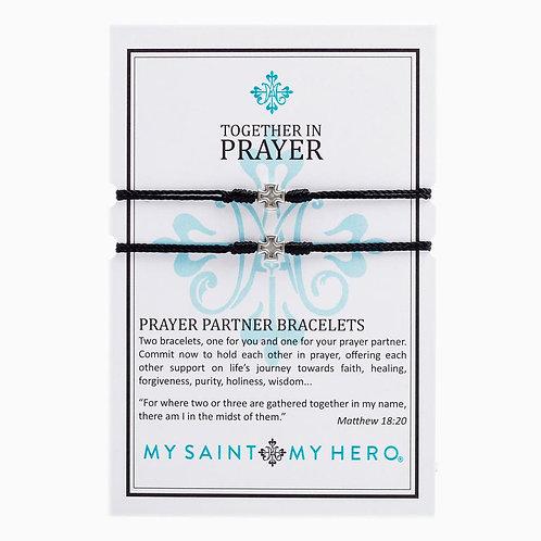 PRAYER PARTNER BRACELET BLACK