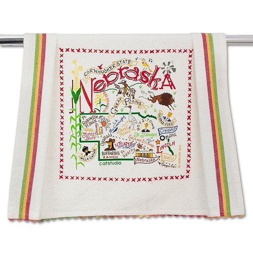 NEBRASKA DISH TOWEL