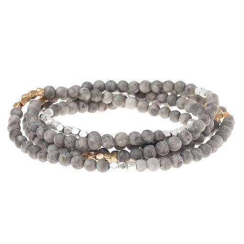 River Stone - Stone of Balance Bracelet Necklace