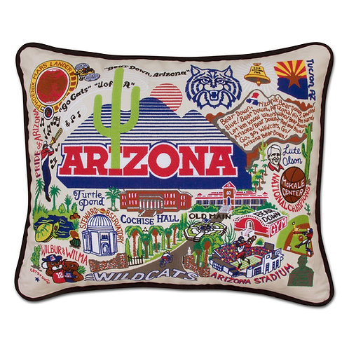 U of A CATSTUDIO COLLEGIATE PILLOW