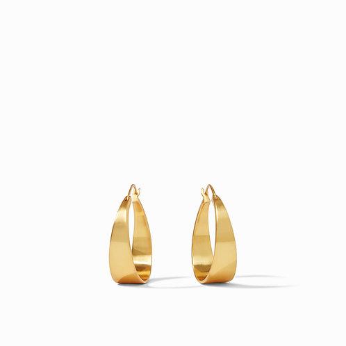 Poppy Hoop Gold Medium