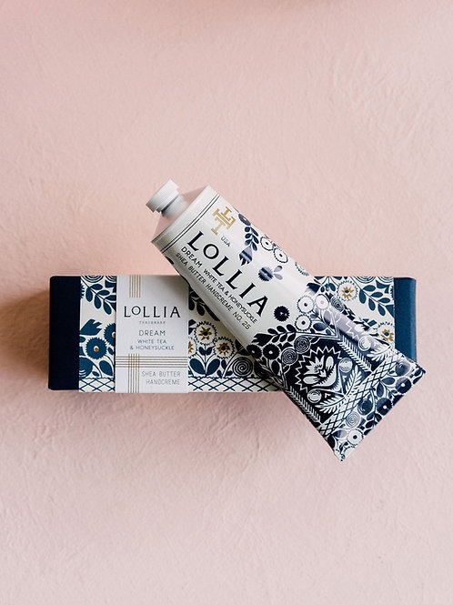LOLLIA DREAM PERFUMED SHEA BUTTER HAND CREAM