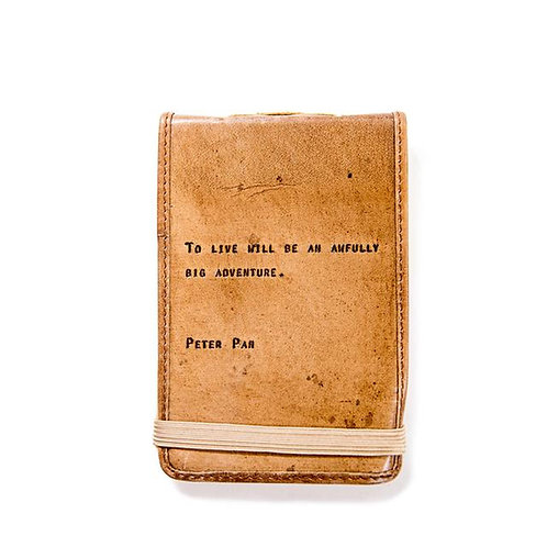 MINI LEATHER JOURNAL PP