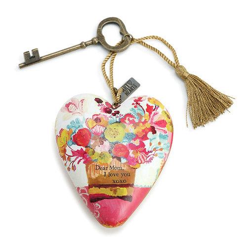 ART HEARTS -DEAR MOM