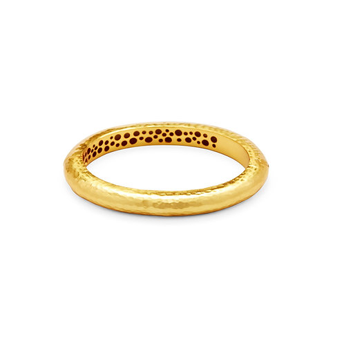 Catalina Hinge Bangle Gold - One Size