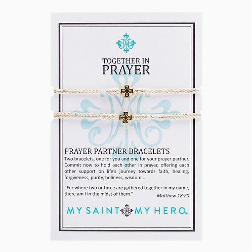PRAYER PARTNER BRACELET GOLD