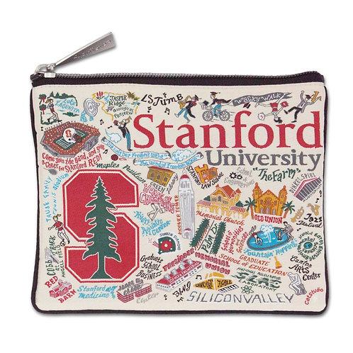 STANFORD UNIVERSITY ZIP POUCH