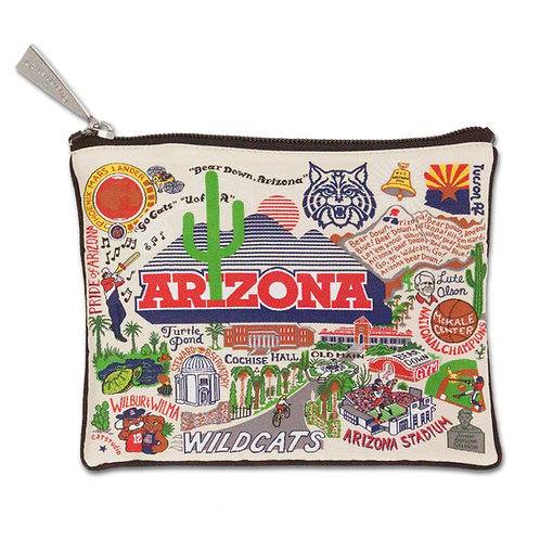 UNIVERSITY OF ARIZONA ZIP POUCH