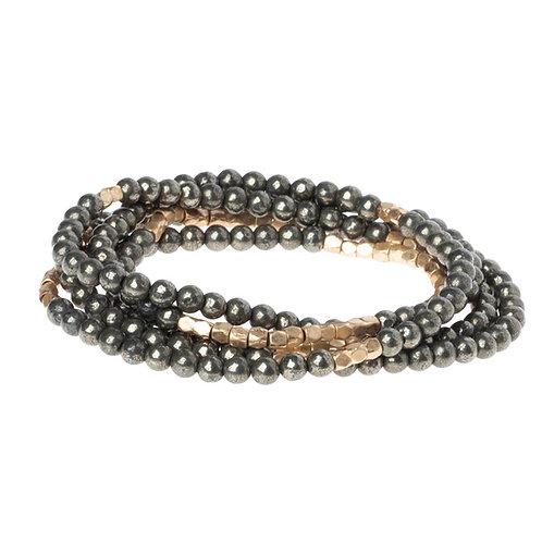Pyrite - Stone of Positive Energy Bracelet Necklace