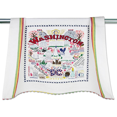 WASHINGTON DC DISH TOWEL