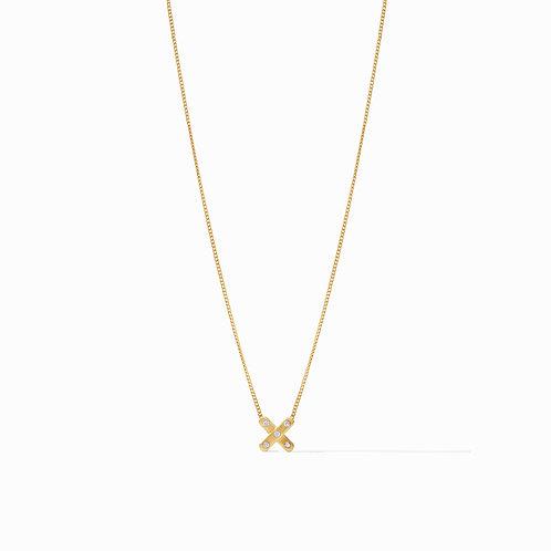 Paris X Delicate Necklace Gold Cz
