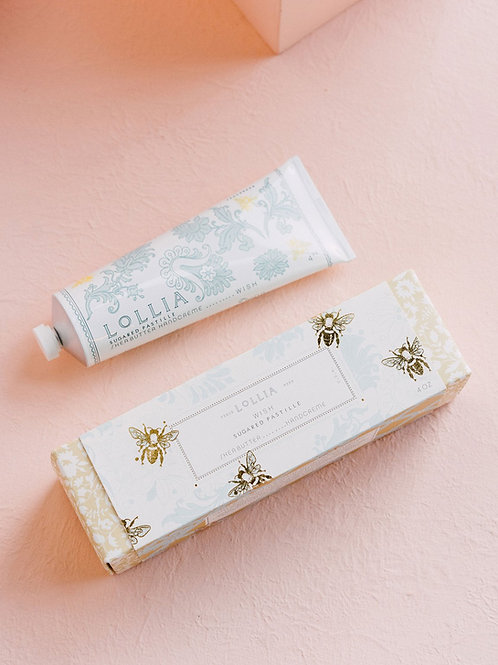 LOLLIA WISH PERFUMED SHEA BUTTER HAND CREAM