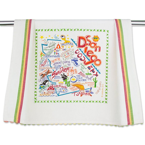SAN DIEGO DISH TOWEL