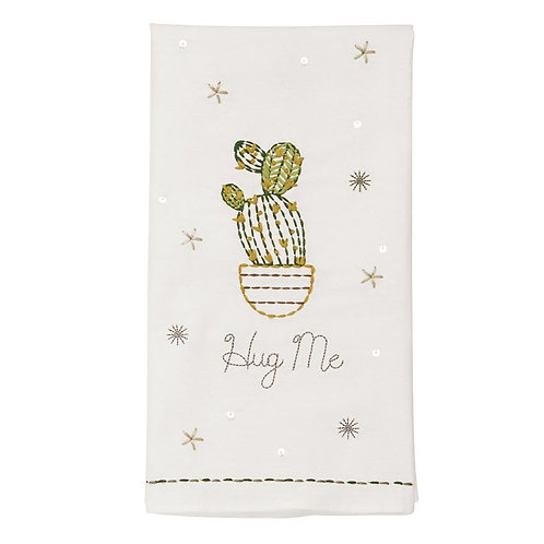 HUG ME EMBROIDERED TOWEL
