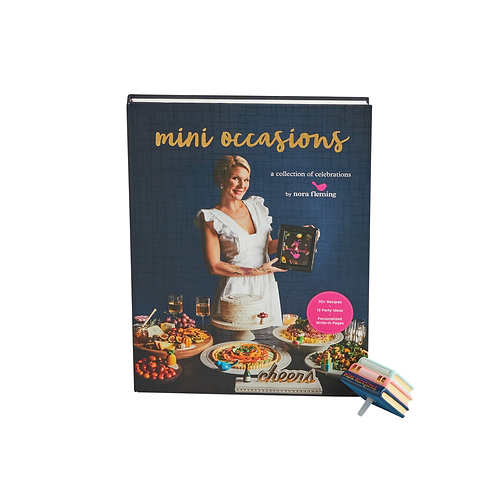 NORA FLEMING COOKBOOK WITH MINI