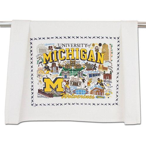 UNIV OF MICHIGAN DISH TOWEL