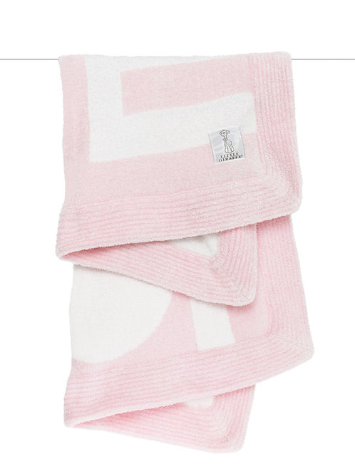 Dolce™ LOVE Baby Blanket Pink