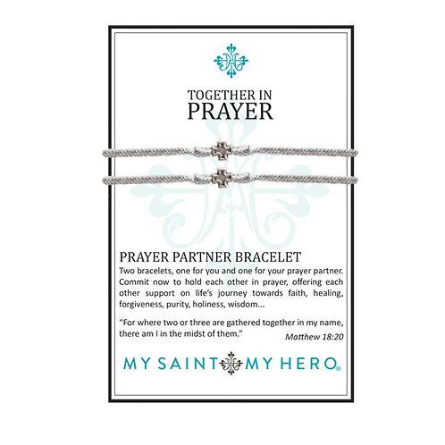 PRAYER PARTNER BRACELET SILVER