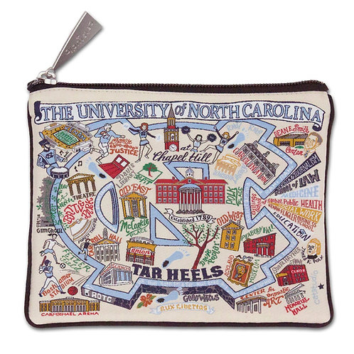 UNIVERSITY OF NORTH CAROLINA ZIP POUCH