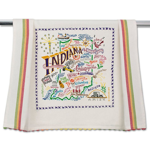 INDIANA DISH TOWEL