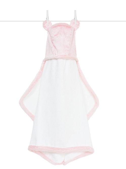 Little Giraffe Luxe™ Baby Towel Pink