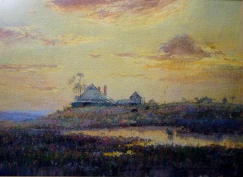 Doug Sealy - Australian Artist - Pastel Morn - Fine Art Painting - Listed Artist