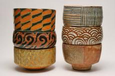 Various Artists Handthrown Pottery Tea Bowls