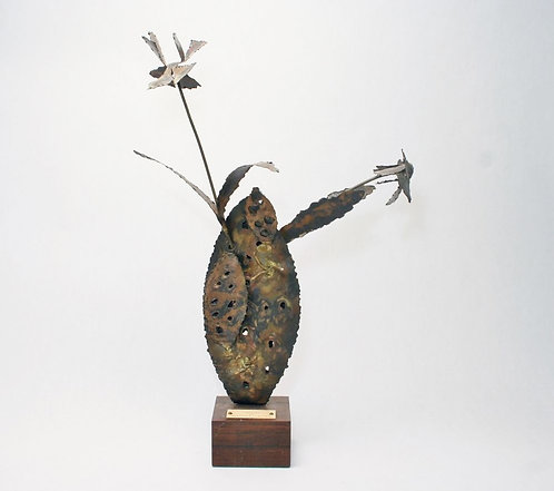Mid-Century Modern Welded Sculpture FREDERICK LAWRENCE