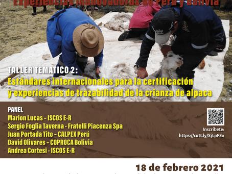 SEMINARIO INTERNACIONAL SOBRE CAMELIDOS SUDAMERICANOS