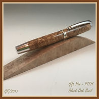 PITH Pen - Black Oak Burl Jr.  Gent.jpg