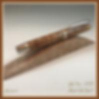 PITH Pen - Black Oak Burl Jr.  Gent.jpg