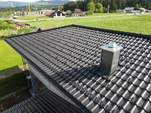 Neuer Wohn(t)raum unter 250 m2  Tonziegel-Dachfläche