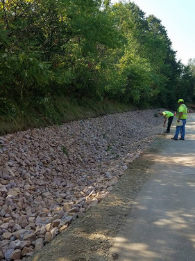 Army Corp of Engineer's Storm Water Project