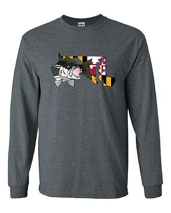 Maryland Flag Striper T-Shirt