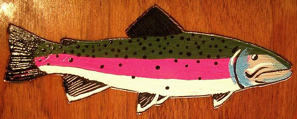 Painted Rainbow Trout