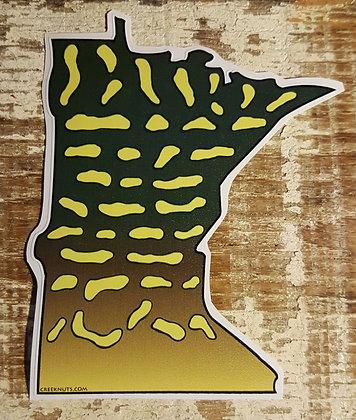 Pike Sticker - Minnesota