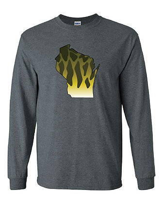 Wisconsin Smallmouth Skin T-Shirt