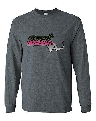 Massachusetts Rainbow Trout Skin T-Shirt
