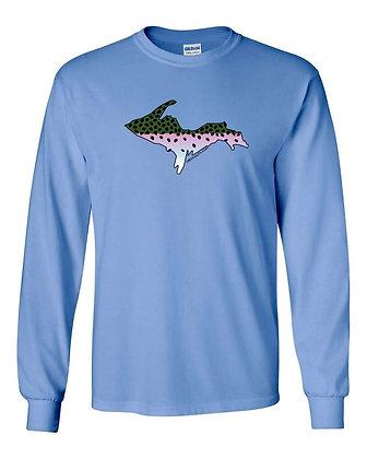 Upper Peninsula Steelhead Skin T-Shirt