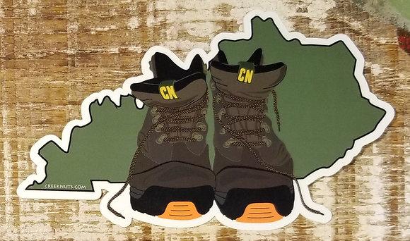 Hiking Boots on Kentucky