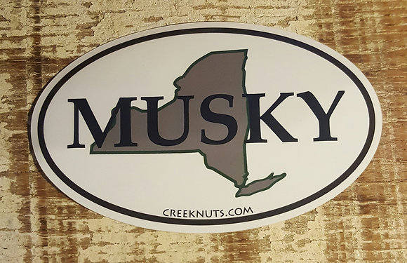 New York Classic Musky Oval