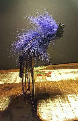 Musky Fly - Double - Purple