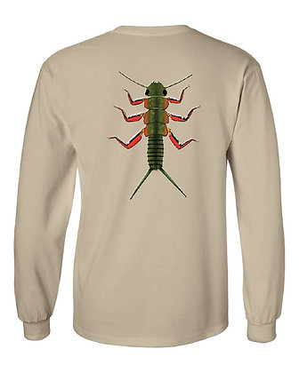 Brook Trout Stonefly/State Skin T-Shirts