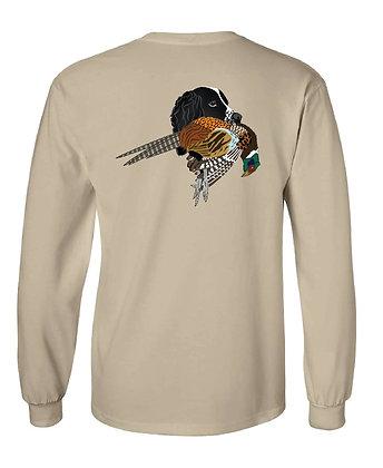 Black Springer Spaniel Pheasant T-Shirts