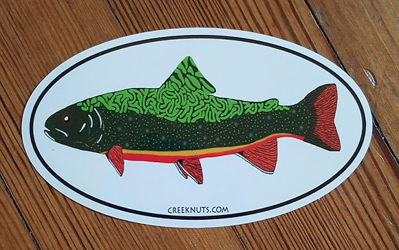 Brook Trout Oval