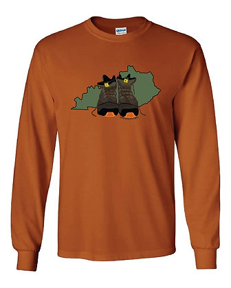 Kentucky Hiking Boot T-Shirts