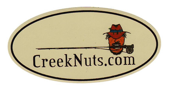 Creeknuts Logo Sticker