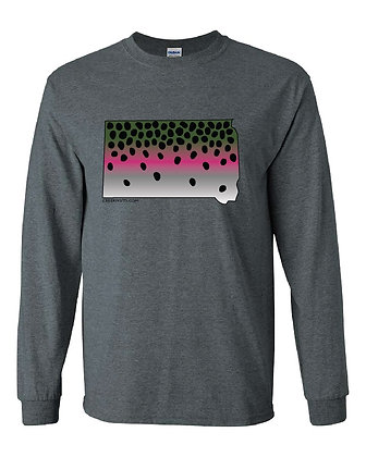South Dakota Rainbow Trout Skin T-Shirt