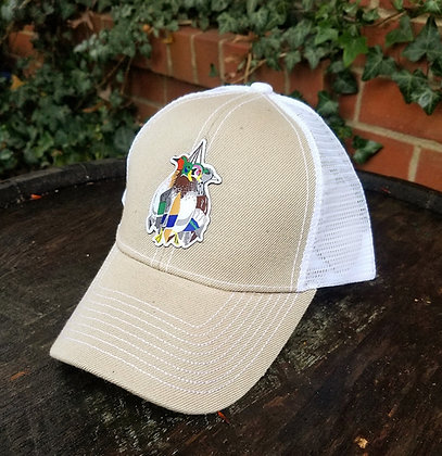 Mixed Bag Ducks Tan Trucker Hat